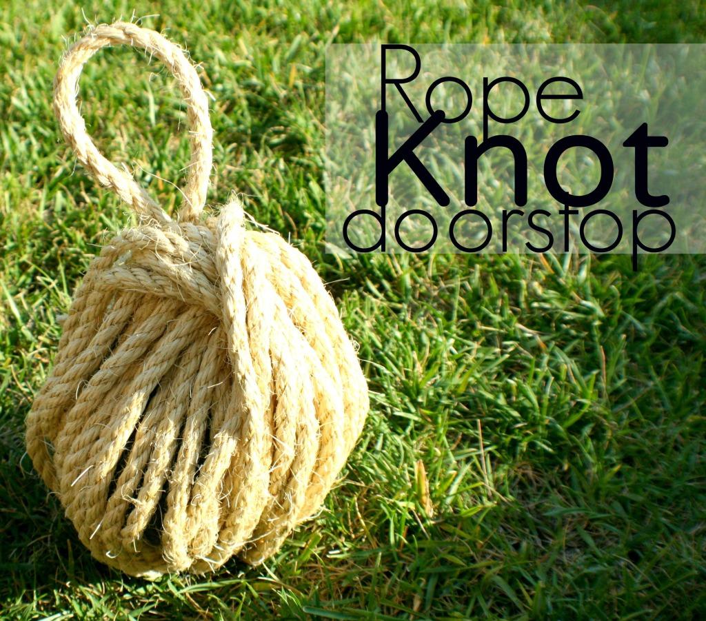 rope+knot+doorstop