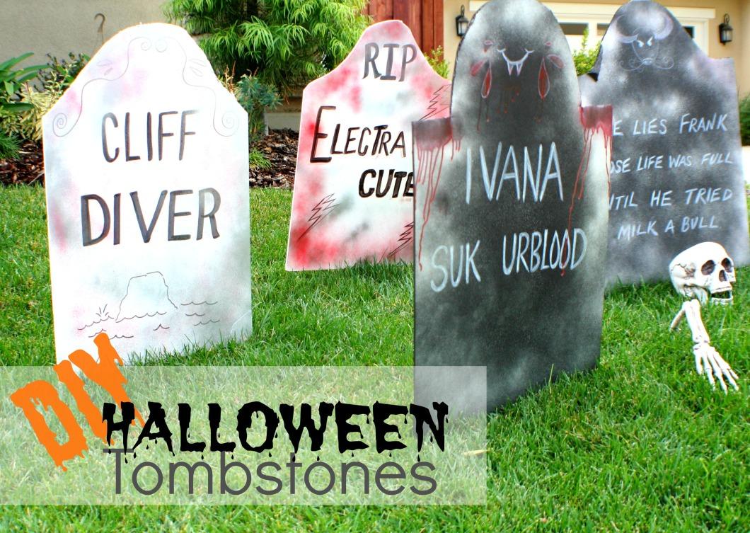 funny halloween names tombstone | hallowen